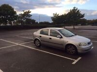 Vauxhall astra 1.6 sxi silver
