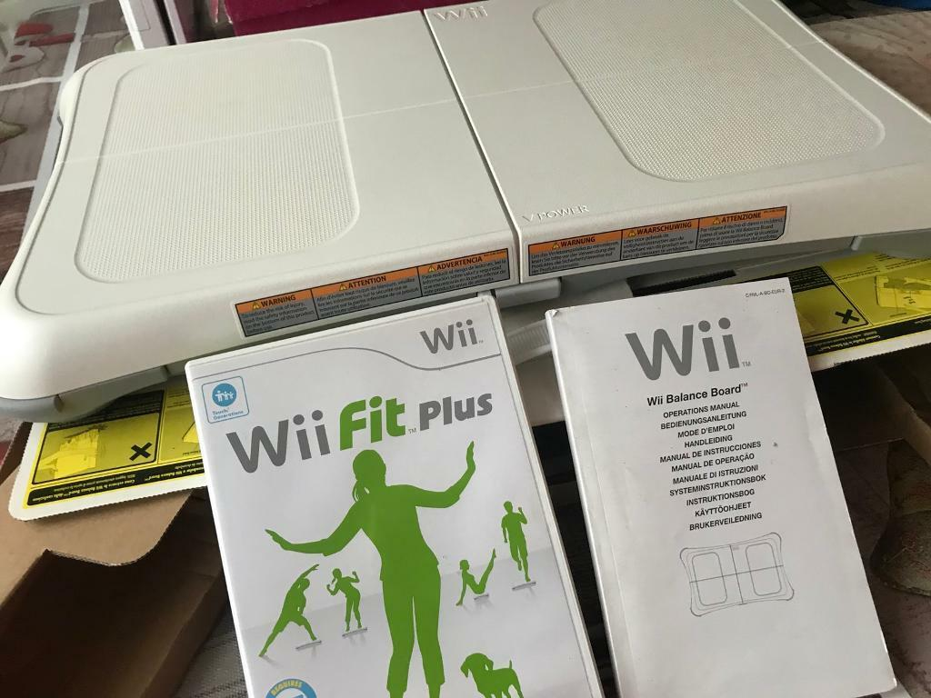 wii fit operations manual