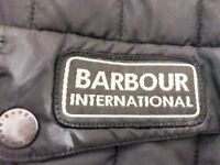 REDUCED AS NO SPACE, BARBOUR INTERNATIONAL JACKET, in BLACK £45