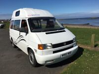 VW 2.4TDi, W reg, Very desirable high-roof camper van