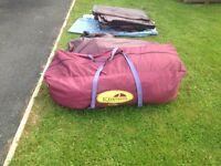Khyam ridge-dome Espace Tent Sleeps