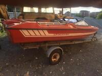 Speedboat + trailer