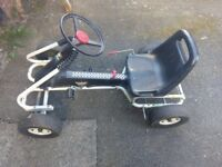 Kids pedal go cart