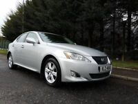 FEBRUARY 2007 LEXUS IS 220 DIESEL 6SPEED MANUAL EXCELLENT CONDITION THROUGHOUT LOVELY DRIVER