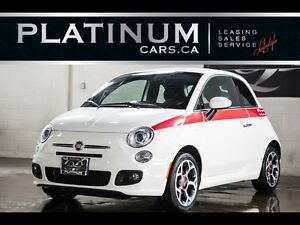 2016 Fiat 500 SPORT, LEATHER, BLUE