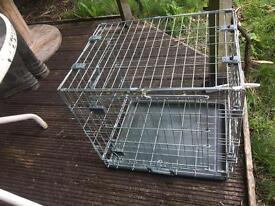 Large folding pet cage