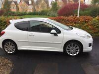 Peugeot 207 1.6 VTi 3dr Kris Meek Special Edition full sports body kit, alloys, CD, A/c, elec wind