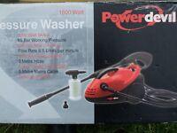 POWER DEVIL PRESSURE WASHER PDGPW1600 BRAND NEW & UNUSED (£65 eBay !!)