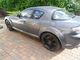 Mazda RX-8 Galaxy Grey -40,000 miles with 231HP engine -Great Price £1495 o.n.o