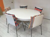 IKEA extendable table and chairs for sale, perfect condition