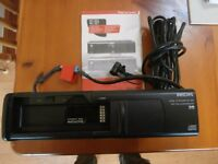 Philips 6 disc CD changer. Suitable for any motor vehicle .Comes with manual & leads.