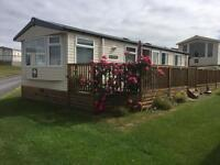 Static caravan in a stunning location. On Whiteford Bay Premier Leisure Park. Llanmadoc. Gower.