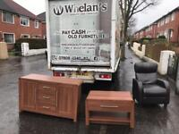 Solid walnut wood sideboard and matching cabinet from Direct Furniture £125 mint mint condition