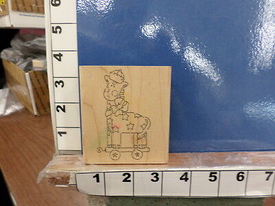 -  giraffe baby pull toy child rubber stamps 33x