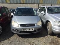 2004 Ford Focus C-Max, 1.6 Diesel, Breaking for parts only, All parts available