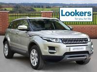 Land Rover Range Rover Evoque SD4 PURE TECH (gold) 2012-11-26