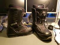 Thirtytwo snowboard boots with boa laces