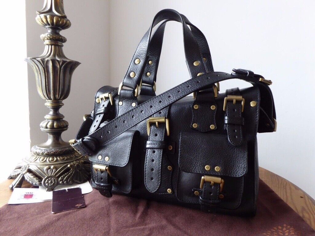 d53b1913053 Mulberry Vintage Rosemary in Black Darwin Leather