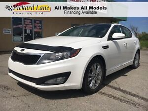 2012 Kia Optima $118.09 BI WEEKLY! $0 DOWN! CERTIFIED!