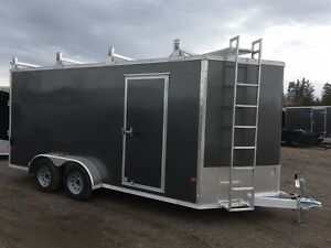 2017 Mission Trailers 7x16 Contractor Trailer