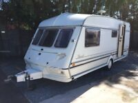 Jubilee herald 1999 4 berth 17 ft end wash room hot and cold running water blow air