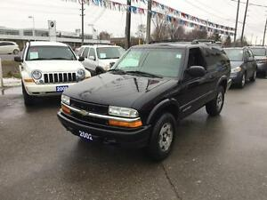2002 Chevrolet Blazer 4WD L - ONE OWNER, NO ACCIDENTS-CERTIFIED!