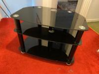 Glass TV Stand - Good Condition