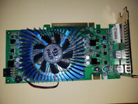 graphics card 8800 gs pci-e 384 mb ddr3 hdmi tv-out dvi