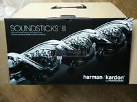 Harmon kardon soundsticks iii 3 new in box