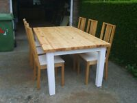 TABLE & 6 CHAIRS (NEAR MARKET WEIGHTON)