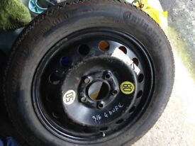 16 inch Space Saver wheel