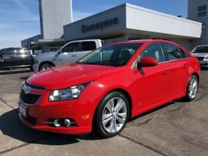 2013 Chevrolet Cruze LT Turbo/Low KMS!/