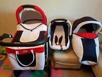 Unisex Pushchair 3 in 1