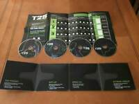 Beachbody insanity T25 gamma fitness discs complete set