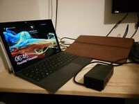 MS Surface Pro 4 Tablet PC bundle - keyboard, docking station and wallet