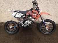 Ktm sx 50 kids motocross bike