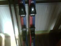 Snow and rock ski's x 2 pairs