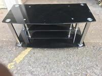 **NEW Solid Tampered Glass TV stand for sale**