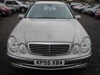 MERCEDES-BENZ E CLASS 3.0 E280 CDI AVANTGARDE 5d AUTO 187 BHP (silver) 2005