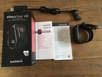 SOLD subject to collection on Sunday 30th April - Garmin Vivoactive HR - Fitness / Sport Smart Watch