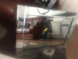 Large Full Glass Mirror Design For House Living Rooom Dining Room
