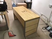 FREE Desks, Six desks identical, complete and in great condition, just come and collect them.