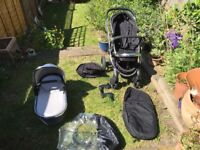 ICandy Peach Stroller in Black Magic
