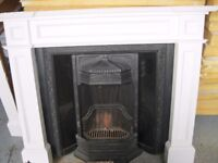 Lovely Complete Fire Place Comes With A Wooden Surround, £300! Make Sure You Grab One For Christmas!