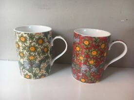 X 2 The leonardo collection mugs