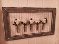 Living Flower Frame / Wall Art