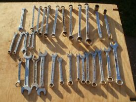 JOBLOT OF SPANNERS