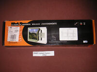 "NEW BRATECH FLAT PANEL TV WALL SUPPORT BRACKET 30"" - 63"" - 75KG - SILVER Cost £69.99 Never Used"