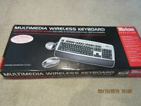 Wireless Keyboard & Optical Mouse