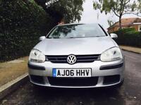 Volkswagen Golf 5 door hatchback... low mileage.HPI clear